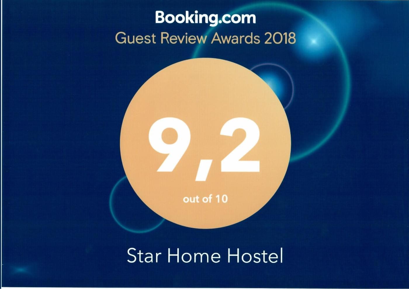 Награда от Booking 2018